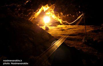 تصاویر دیدنی از غار مزدوران سرخس