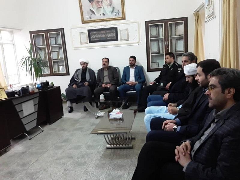 دیداربا فرماندهان پادگان سلمان  به مناسبت دهه فجر انقلاب اسلامی